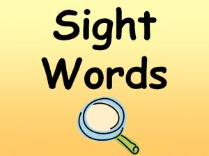 Sight Words image